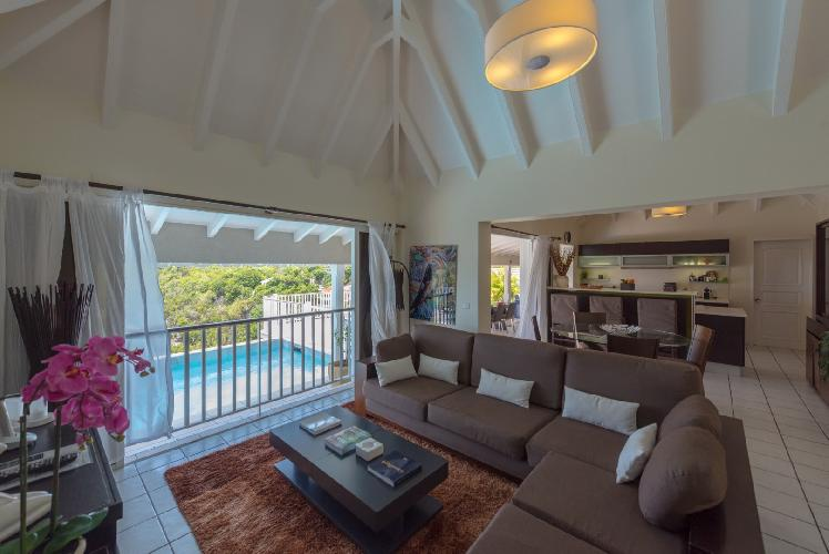 well-appointed Saint Barth Villa Angelo luxury holiday home, vacation rental