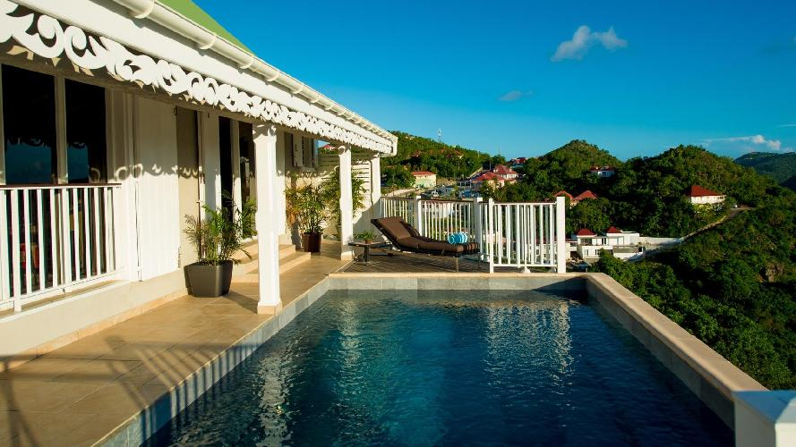 beautiful Saint Barth Villa Angelo luxury holiday home, vacation rental