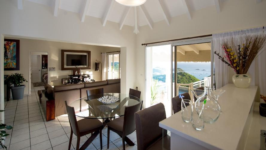 spacious Saint Barth Villa Angelo luxury holiday home, vacation rental