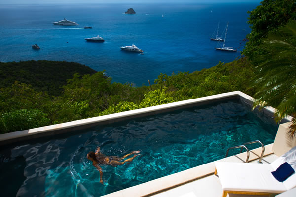 incredible Saint Barth Sunset Caribbean Sea luxury villa holiday home, vacation rental