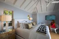 nice Saint Barth Sunset Caribbean Sea luxury villa holiday home, vacation rental
