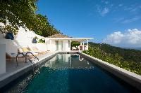 splendid Saint Barth Sunset Caribbean Sea luxury villa holiday home, vacation rental