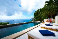magnificent Saint Barth Sunset Caribbean Sea luxury villa holiday home, vacation rental