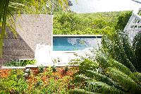 lush Saint Barth Sunset Caribbean Sea luxury villa holiday home, vacation rental