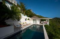 amazing Saint Barth Sunset Caribbean Sea luxury villa holiday home, vacation rental