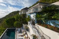 cool Saint Barth Sunset Caribbean Sea luxury villa holiday home, vacation rental
