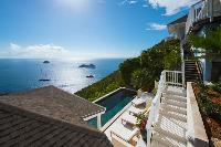 magical Saint Barth Sunset Caribbean Sea luxury villa holiday home, vacation rental