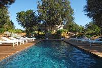 amazing swimming pool of Corsica - Alta Roccha luxury apartment