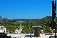breathtaking view from Corsica - Alta Roccha luxury apartment