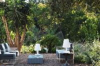 lush and lovely garden of Corsica - Alta Roccha luxury apartment