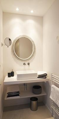 elegant lavatory of Corsica - Alta Roccha luxury apartment