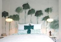 perky bedroom of Corsica - Alta Roccha luxury apartment
