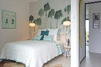 pristine bedding in Corsica - Alta Roccha luxury apartment