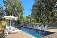 amazing poolside of Corsica - Alta Roccha luxury apartment