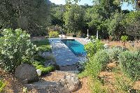 relaxing pool of Corsica - Alta Roccha luxury apartment