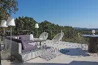 cool deck at Corsica - Alta Roccha luxury apartment