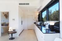 awesome kitchen of Corsica - Alta Roccha luxury apartment