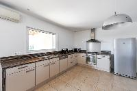 cool modern kitchen of Corsica - Cala Rossa luxury apartment