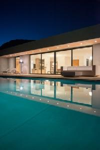 awesome swimming pool of Corsica - Palombaggia luxury apartment