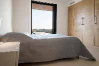 generous bedroom windows in Corsica - Palombaggia luxury apartment