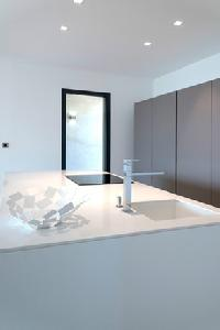immaculate bathroom interiors of Corsica - Palombaggia luxury apartment