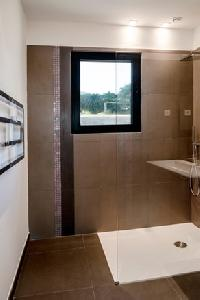 dapper bathroom in Corsica - Palombaggia luxury apartment