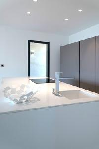 pristine lavatory of Corsica - Palombaggia luxury apartment