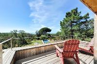 amazing deck of Corsica - Villa Caprettu luxury apartment