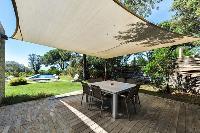 cool outdoor dining at Corsica - Villa Caprettu luxury apartment