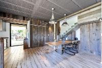 cozy dining room of Corsica - Villa Caprettu luxury apartment