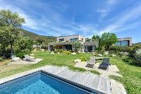 awesome swimming pool of Corsica - Villa Caprettu luxury apartment