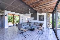 cozy living room of Corsica - Villa Caprettu luxury apartment