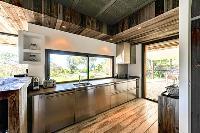 charming kitchen of Corsica - Villa Caprettu luxury apartment