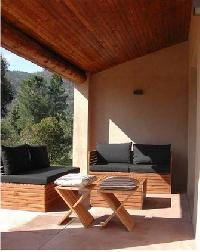 charming patio of Corsica - Oso luxury apartment