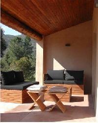 charming patio of Corsica - Oso luxury apartment