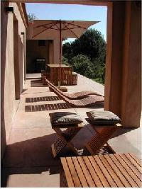 delightful deck of Corsica - Oso luxury apartment
