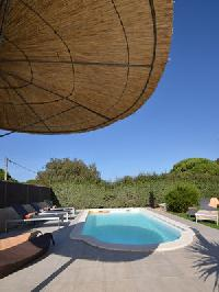 cool swimming pool of Corsica - Pietra luxury apartment