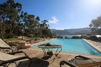 refreshing swimming pool of Corsica - Villa Authentique luxury apartment