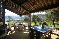 awesome patio of Corsica - Villa Authentique luxury apartment