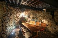 fascinating dining area in Corsica - Villa Authentique luxury apartment