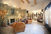 cozy sitting area in Corsica - Villa Authentique luxury apartment