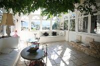 beautiful sunroom in Corsica - Villa Authentique luxury apartment