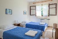 clean bed sheets in Kefalonia Absolute Ai-Helis Villas Serenata luxury holiday home, vacation rental