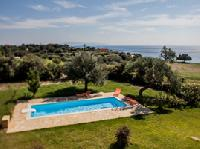 awesome Kefalonia Absolute Ai-Helis Villas Serenata luxury holiday home, vacation rental
