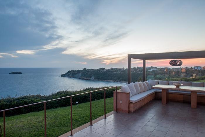 romantic Kefalonia Absolute Ai-Helis Villas Melodia luxury holiday home, vacation rental