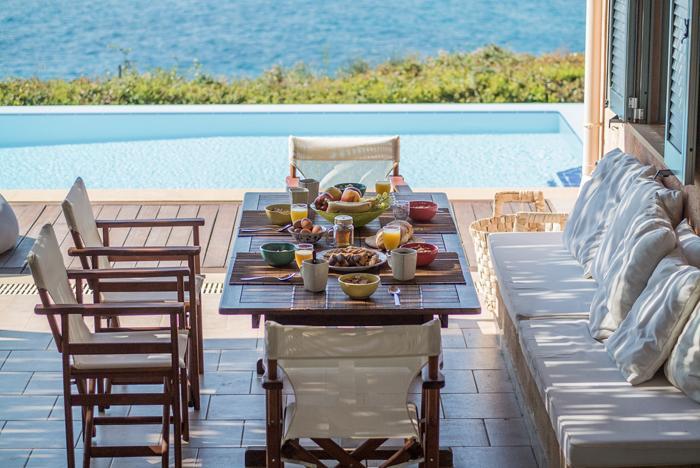 amazing Kefalonia Absolute Ai-Helis Villas Melodia luxury holiday home, vacation rental