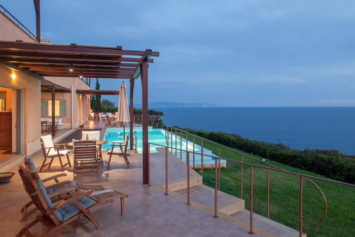 awesome Kefalonia Absolute Ai-Helis Villas Melodia luxury holiday home, vacation rental
