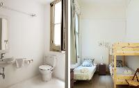 spic-and-span bathroom and bedroom in Barcelona - Sant Pere Modernist P 2 luxury apartment
