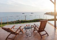 awesome seafront Kefalonia Absolute Ai-Helis Armonia luxury holiday home, vacation rental