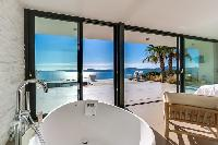 wonderful view of the sea from Grimaud - La Grande Bleue luxury apartment